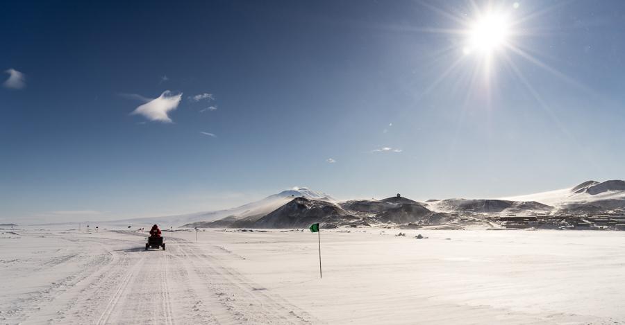 Leaving McMurdo