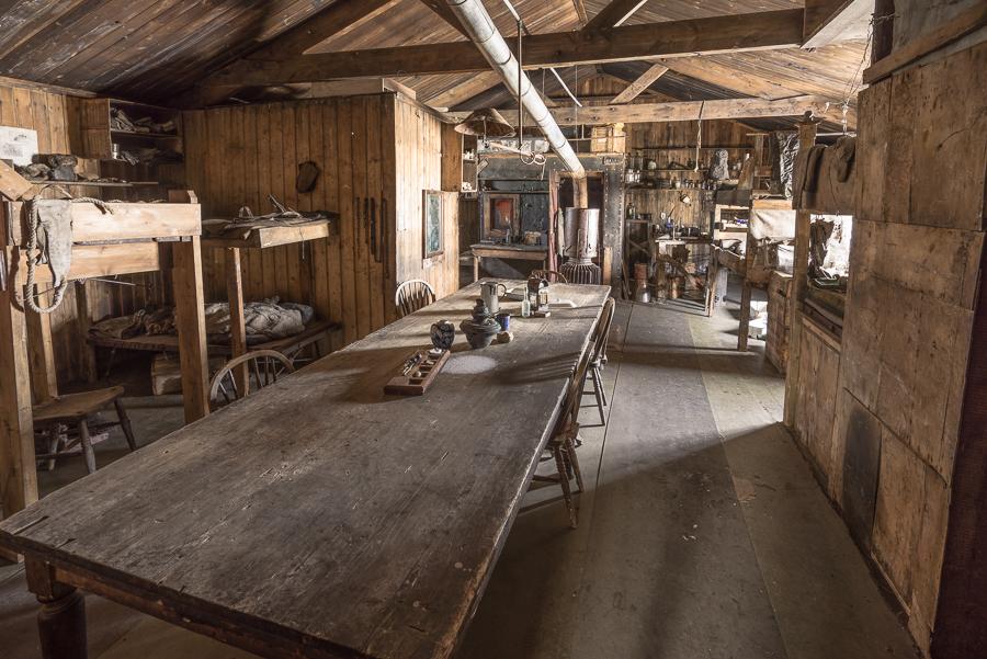 Cape Evans Hut Wardroom Table
