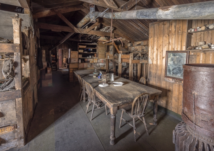 Cape Evans Hut Wardroom Table