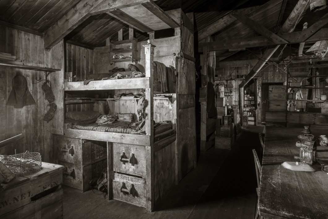 Nelson and Day's bunks.