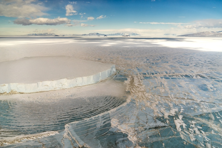 Grounded Iceberg, McMurdo Sound, Antarctica