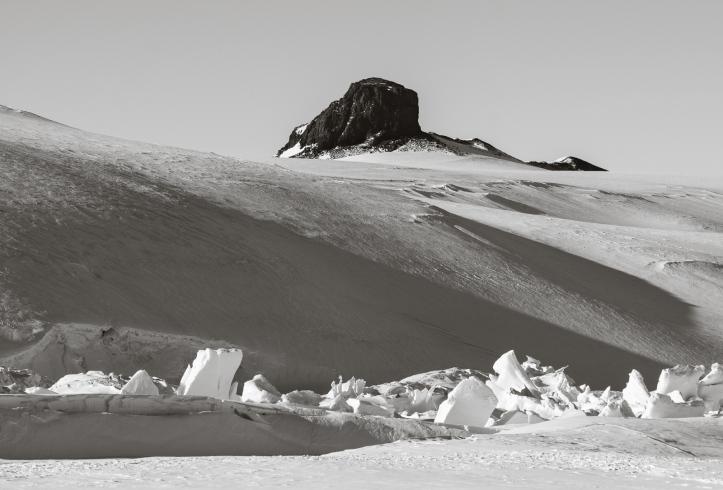 Scott Base Pressure Ridges, and Castle Rock