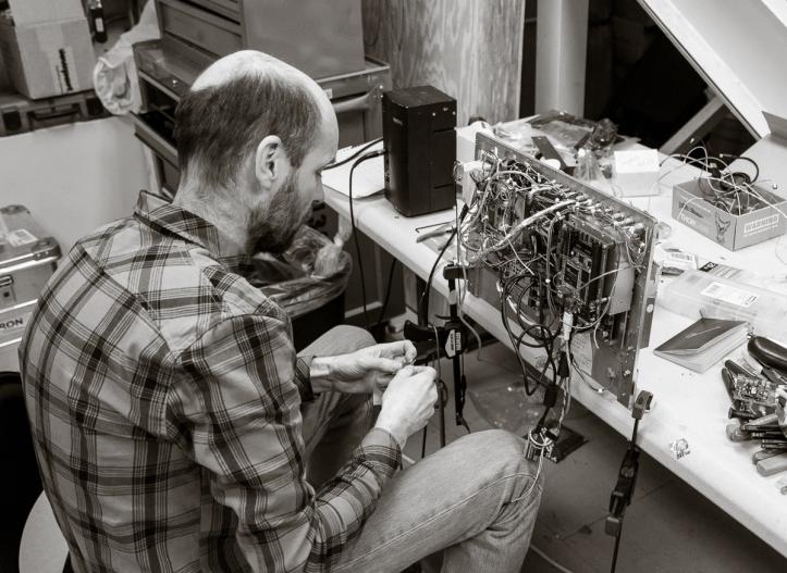 Assembling Electronics.