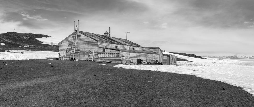 Cape Evans Hut, Scott's base for his fatal South Pole expedition.