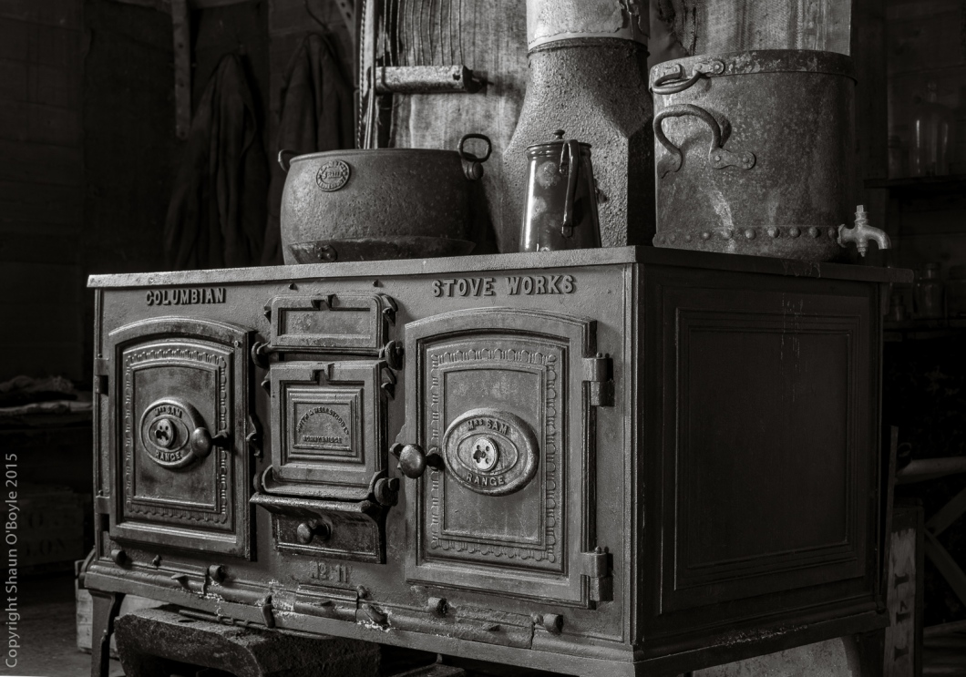At first the stove didn't work properly, the hut temperature never reached above zero degrees.