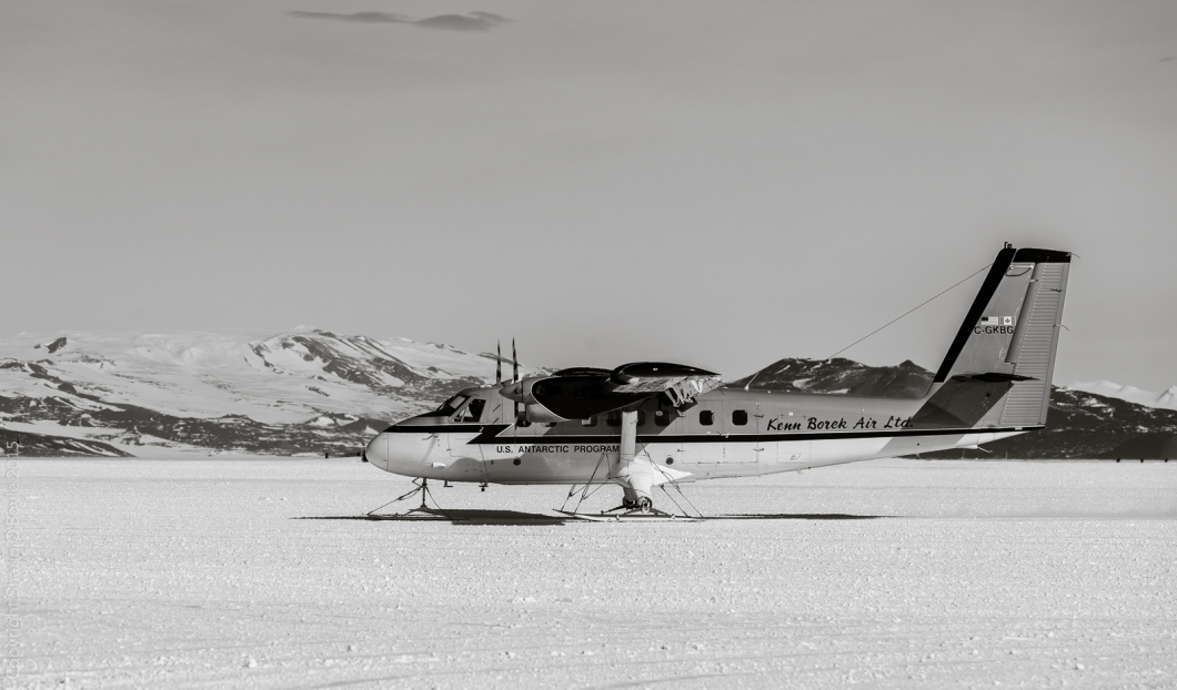 Kenn Borek Air provides flight services to remote field camps around Antarctica