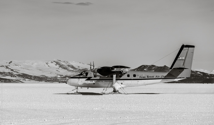 Kenn Borek Air provides flight services to remote field camps around Antarctica