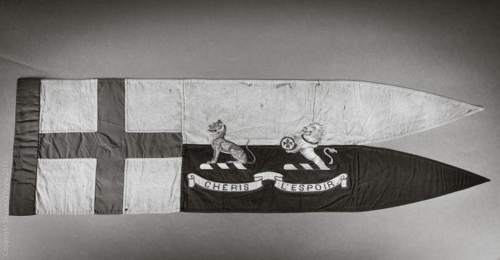 Apsley Cherry-Garrard's sledging flag