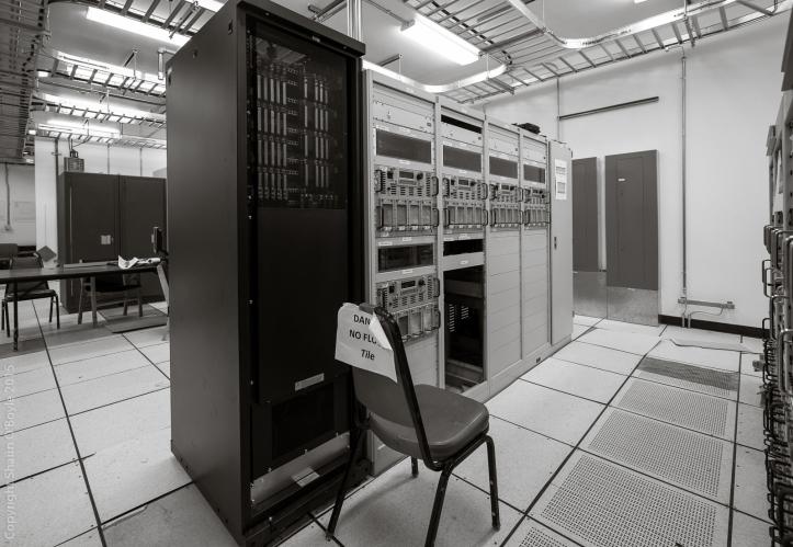 Comm equipment in building 221