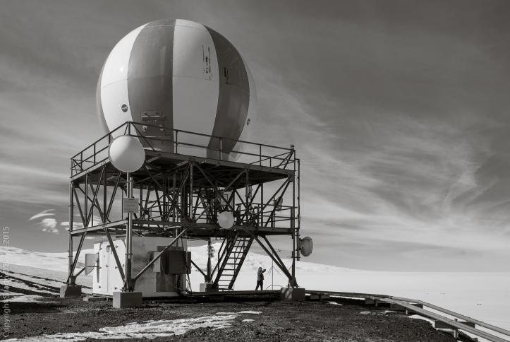 NASA satellite uplink
